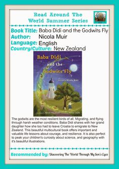 Discovering The World Through My Son's Eyes: Bada Didi and The Godwits Fly {Read Around the World Summer Reading Series}