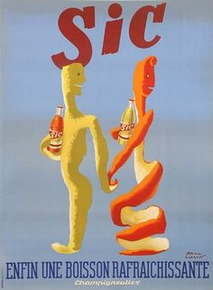 Paul Colin, Advertising Poster for a Soda Drink, France, n.d.