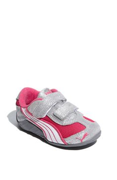PUMA 'Millennius Glitter' Sneaker (Baby, Walker & Toddler) available at #Nordstrom
