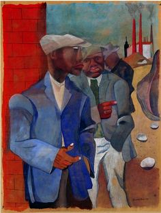 Posts and resources with artworks by black artists, civil rights art, African art, art projects, and more to teach Black History art lessons. African American Artist, American Artists, African Art, Black History, Art History, Ancient History, Collage Kunst, Critique D'art, Romare Bearden