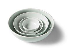Celadon White Bowls