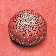Mandala-Stein groß