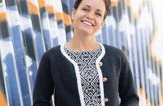 Ein Hauch Pariser Flair | Schweizer Familie - Häkeln crochet Anleitung pattern chanel jacke