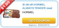 $1.00 off HORMEL ALWAYS TENDER meat #coupon