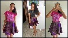 Aprenda a costurar uma saia godê com Alana Santos Blogger