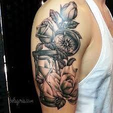 16 Mejores Imágenes De Tatuaje Reloj De Arena Hourglass Tattoo