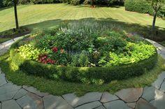 12 Best Round Flower Beds Images Flower Beds Flower Bed Designs