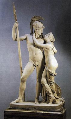 Antonio Canova's Venus and Mars