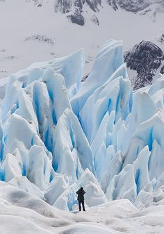 Shooting the Perito Moreno - Argentinean Patagonia #travel #photo #nature