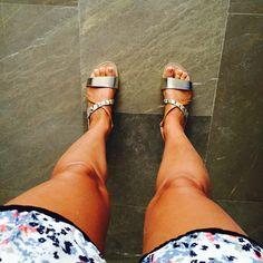 New sandals, very comfortable Nuevas sandalias supercomodas