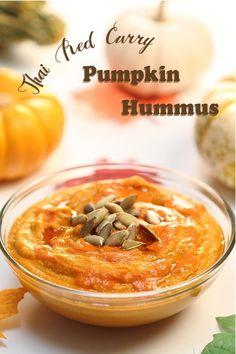 Thai Red Curry Pumpkin Hummus