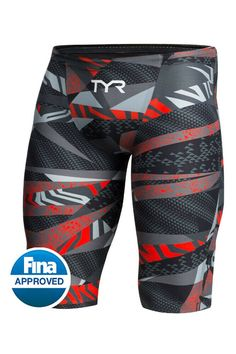 TYR Mens Avictor Prelude Jammer GreyRed 25 *** You can get more details by clicking on the image. (This is an affiliate link) Swim Shop, Gym Gear, Sport Man, Mens Clothing Styles, Men's Clothing, Workout Wear, Mens Fitness, Fitness Style, Sport Outfits