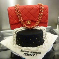 red chanel cake bag | Flickr - Photo Sharing!