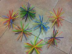 Sunburst straws (For VBS decoration???)