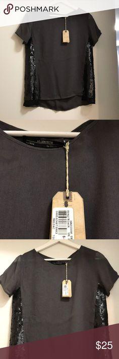 New All Saints Shirt Never worn- smoke free, pet free home. All Saints Tops Blouses