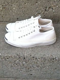 860bb5a2e720 Vintage Jack Purcell Converse Made In USA Canvas Sneakers Mens Size 8 1 2