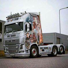 Volvo Truck Volvo Trucks, Peterbilt Trucks, Show Trucks, Big Trucks, Truck Paint, Pinstriping, Custom Trucks, Heavy Equipment, Custom Paint