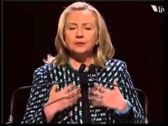 Hillary Clinton's Speech Women in the World Summit in 2010.  Every woman should watch this with an open mind and heart, listen to what she is saying about empowerment and support and think hard about what their part is in not only American society, but the society of the planet.