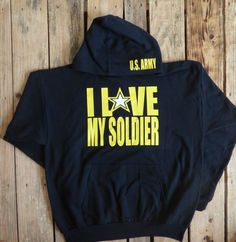 Army Sweatshirt, Army Wife, Army Girlfriend, Army Fiance, Army Hoodie, Army Pull Over, Navy Wife, Navy Girlfriend, Navy Fiance by LovingMyHero143 on Etsy