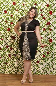 Plus Size Fashion Curvy Women Fashion, Plus Size Fashion, Girl Fashion, Fashion Outfits, Womens Fashion, Plus Size Dresses, Plus Size Outfits, Looks Plus Size, Full Figure Fashion