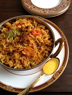 Lamb Biryani#Curry #Rice #Food #Masala #Biryani