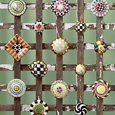 MacKenzie Childs Knobs... Adds a great little detail to any room :)