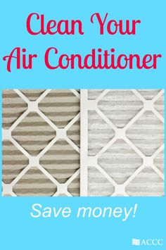 Learn how to clean your air conditioner to save money and keep it in running order.