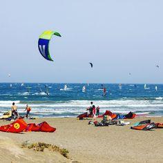 Full house in #elmedano #tenerife #windsurf #windsurfing #kitesurf