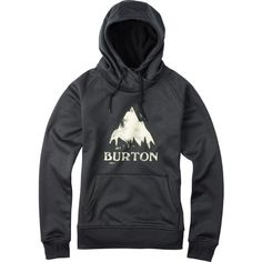 Burton Heron Pullover Hoodie - Women's True Black Heather
