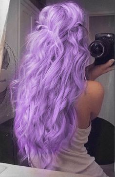Beautiful Light Purple hair❤️