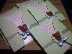 My baby shower  de ositos .. invitaciones #ideas #babyshower #sweet