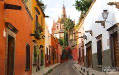 san miguel de allende, ville coloniale, mexique