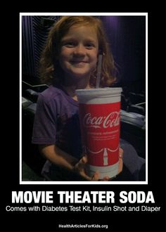 Movie Theater Soda – EXTREMELY BAD FOR KIDS!