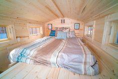 Casa mobile su ruote in legno 33
