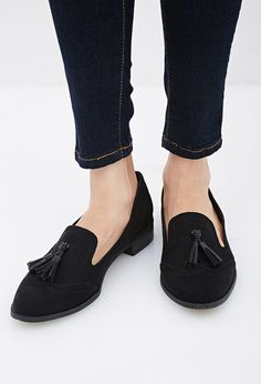 fc9697f06bc Faux Suede Tassel Loafer - Womens shoes and boots