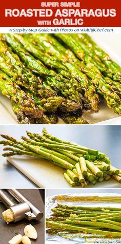 Simple Roasted Asparagus with Garlic