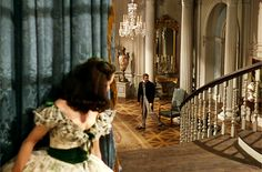 Vivien Leigh as Scarlett O'Hara & Clark Gable as Rhett Butler in 'Gone With The Wind'