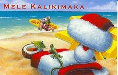 Merry Christmas - Hawaiian