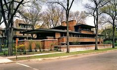 """The Robie House"" Frank Lloyd Wright"