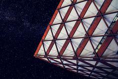 space ship by Pavel Kudiváni on 500px #space #stars #star #universe #milkyway #architecture #city