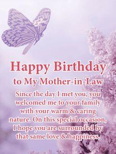Religious Birthday Wishes, Birthday Greetings For Mother, Happy Birthday Wishes For Her, Mother In Law Birthday, Birthday Love, Birthday Crafts, Birthday Recipes, Birthday Nails, Birthday Ideas