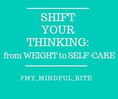 """Quando il cambiamento alimentare non è sostenuto da un cambiamento del proprio atteggiamento mentale sarà difficile raggiungere e mantenere i propri obiettivi. Sposta il tuo pensiero da """"devo dimagrire"""" a """"scelgo di prendermi cura di me"""". Il dimagrimento sarà una naturale conseguenza. Follow my tips ---> http://michelacicuttin.com/index.php/consigli/ #HealthyHabits #SelfCare #MyMindfulBite"""