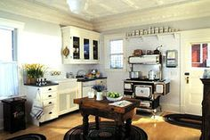 Home & Interior Design: Style Guide: Country Kitchens (Part VIII)