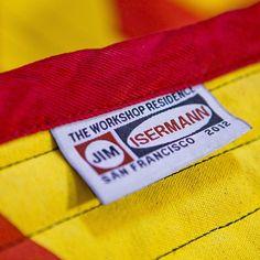 #utilityblanket by #jimisermann for #workshopresidence Send us some snaps of your Isermann blanket in use...