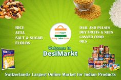 Desimarkt is a one stop destination for Online Indian Grocery store based totally in Zurich Indian Grocery Store, Daal, Dried Fruit, Zurich, Online Marketing, Switzerland, Bring It On, Food, Meal