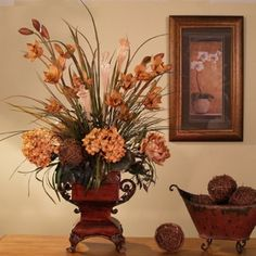 Artificial flower arrangement autumn gerbera and rosehips small artificial flower arrangement autumn gerbera and rosehips small aut002 silkflowersdecoflora silk flowers pinterest rosehip flowers and mightylinksfo
