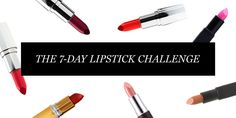 The Marie Claire Lipstick Challenge Lipstick Challenge, Beauty Blender Holder, Beauty Lookbook, Make Up Tricks, Beauty Magazine, Beauty Supply, Lip Liner, Marie Claire, Lip Makeup