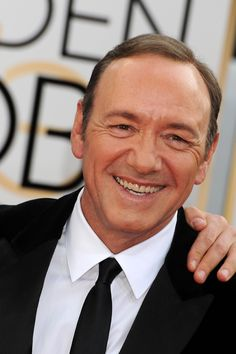 Kevin Spacey • A little Spacey smile, a little Spacey style