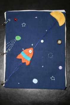 spaceship travels to the moon or travels through space to the 8/9 planets. no loose pieces
