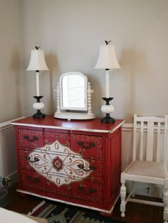 red chest 2 #frenchdecor